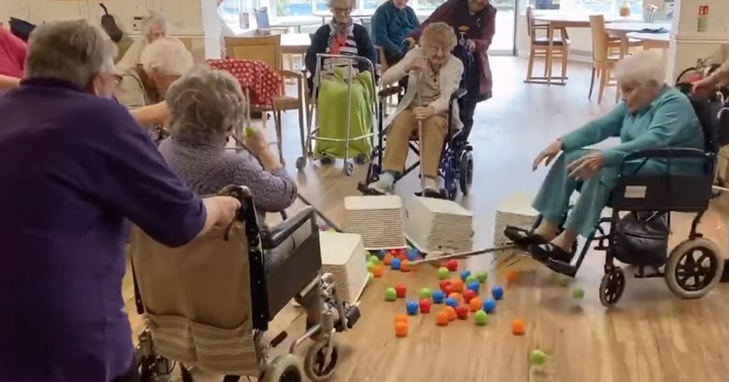 Nursing Home Hungry Hungry Hippos