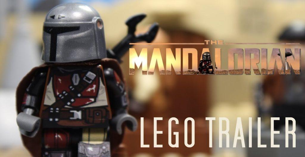 The Mandalorian LEGO trailer