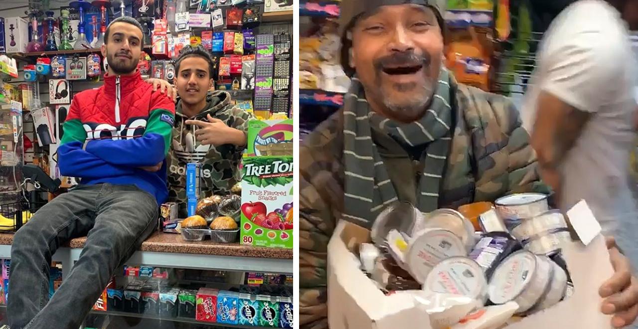 NYC Deli Customers Get Free Stuff