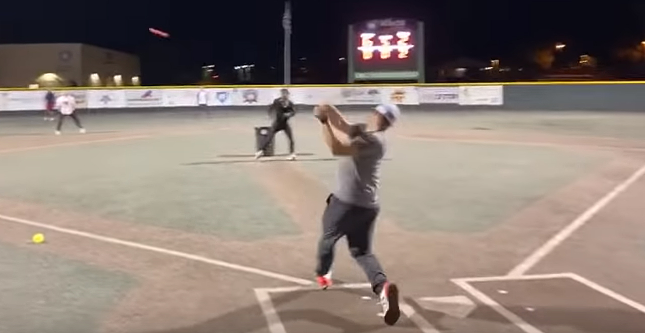 Bauer's Pick-up Sandlot Game