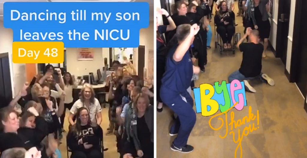 Dancing Tiktok Dad Leaves NICU