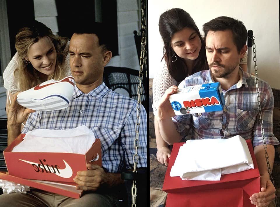 couple forest gump