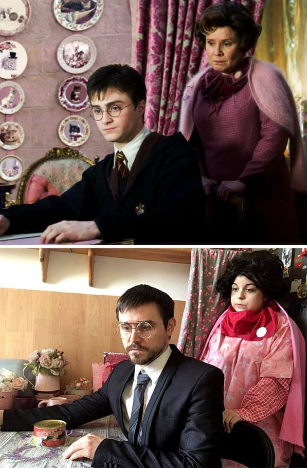 couple harry potter order of the pheoni