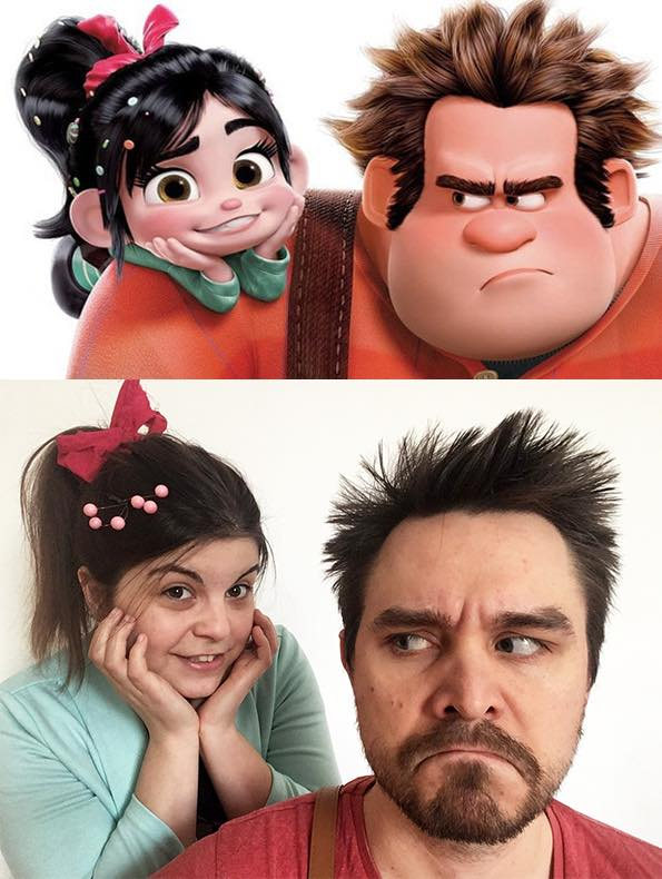 couple wreck it ralph