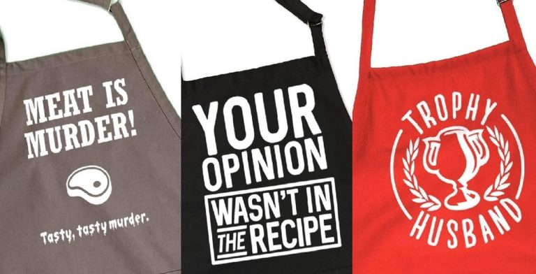 funny grilling aprons main image