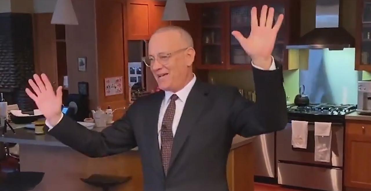 Tom Hanks Hosts SNL From Kitchen