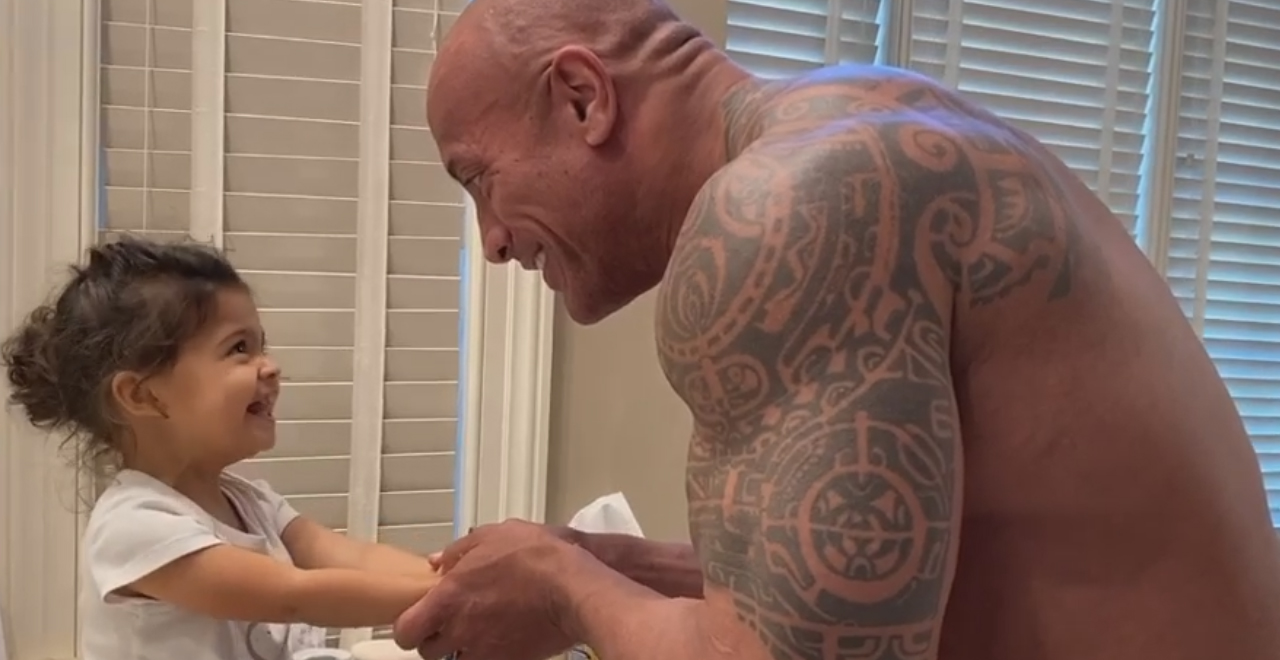 The Rock's Moana Handwashing Rap