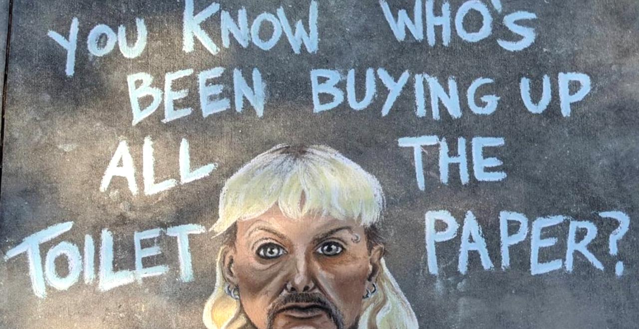 Casey Drake Sidewalk Art