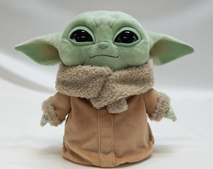 Baby Yoda Squish Toy