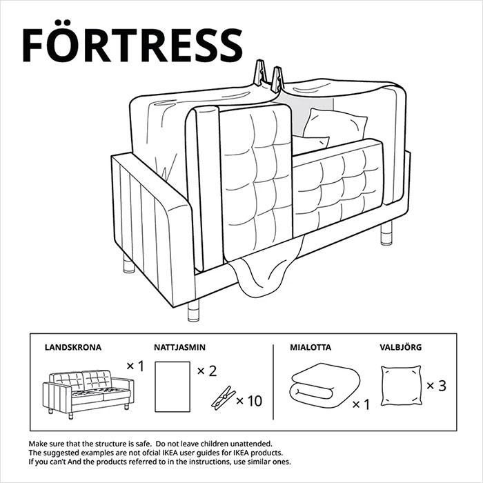 Ikea Fortress