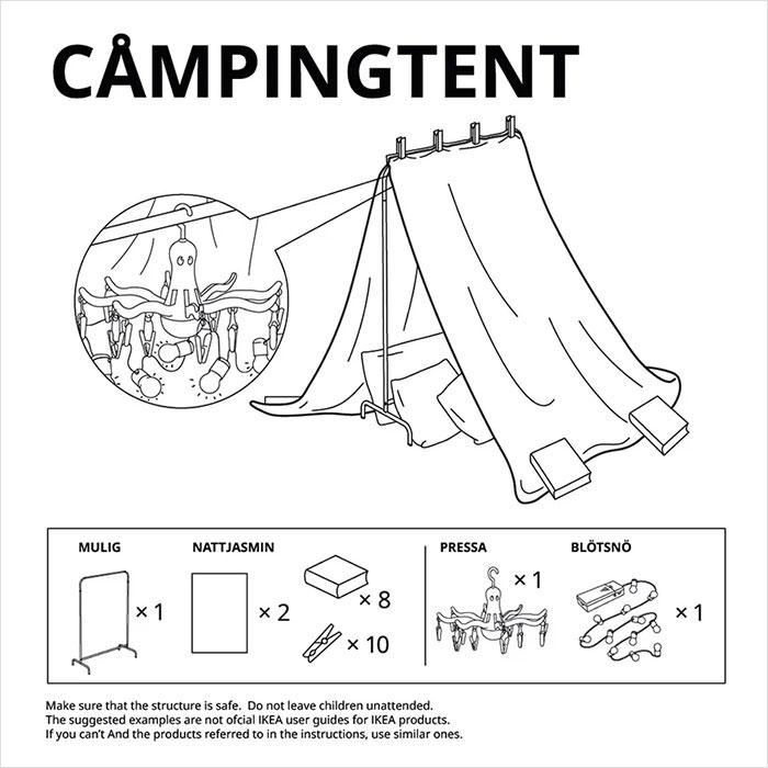 Ikea campingtent