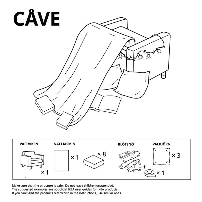 Ikea cave