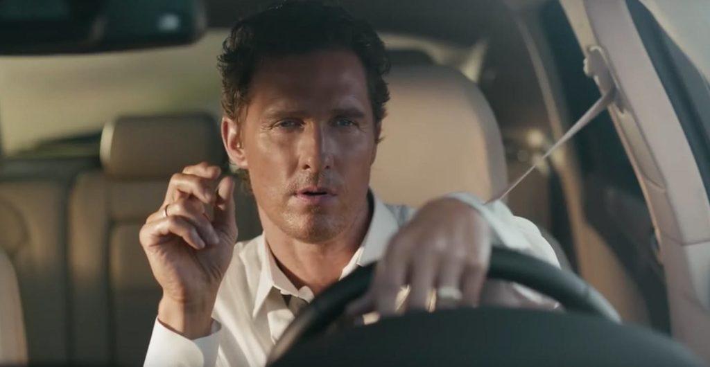 Matthew McConaughey lincoln