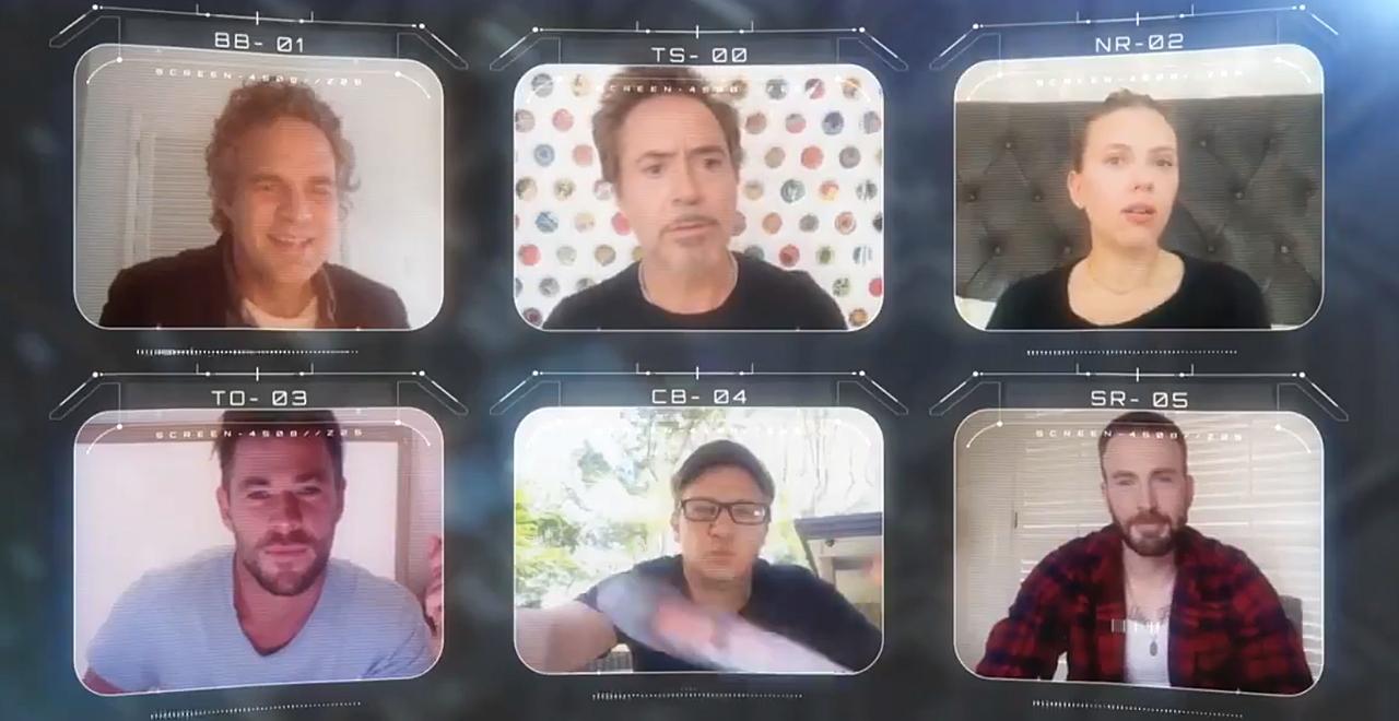 Avengers Assemble Virtually