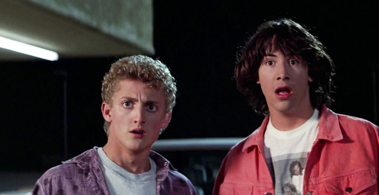 bill and ted woah