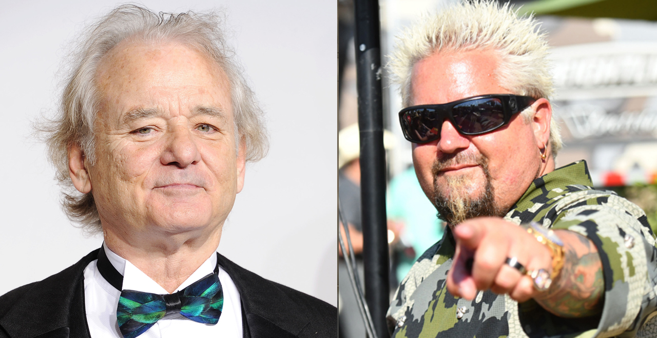 Bill Murray VS Guy Fieri