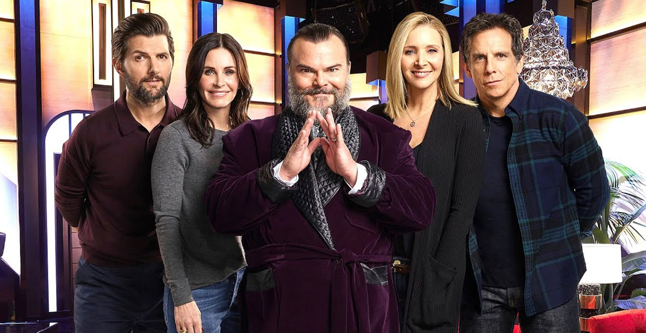 Jack Black Celebrity Escape Room