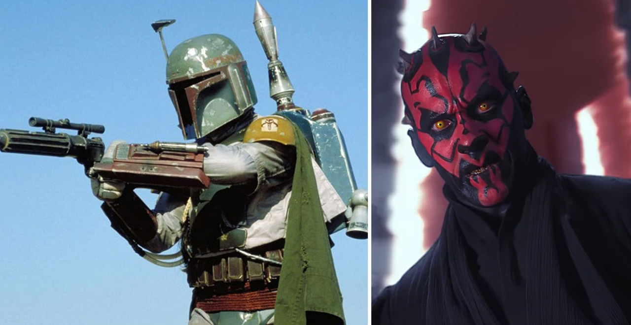 Boba Fett and Darth Maul in Mandalorian