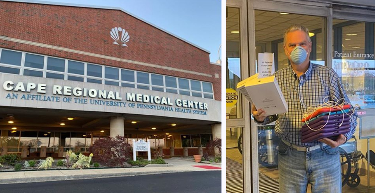 Man Donates iPads to Hospitals Amid Covid