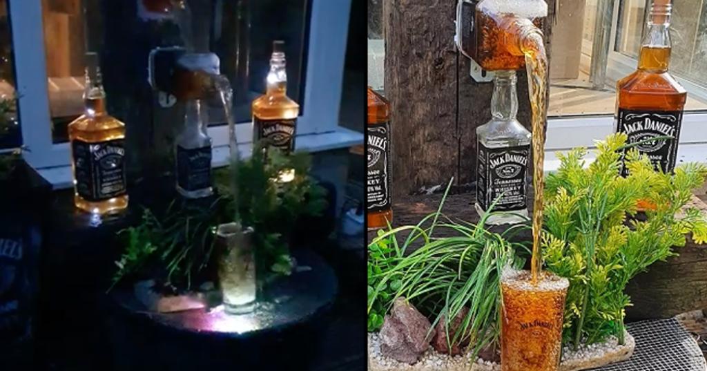 Jack Daniels Waterfall