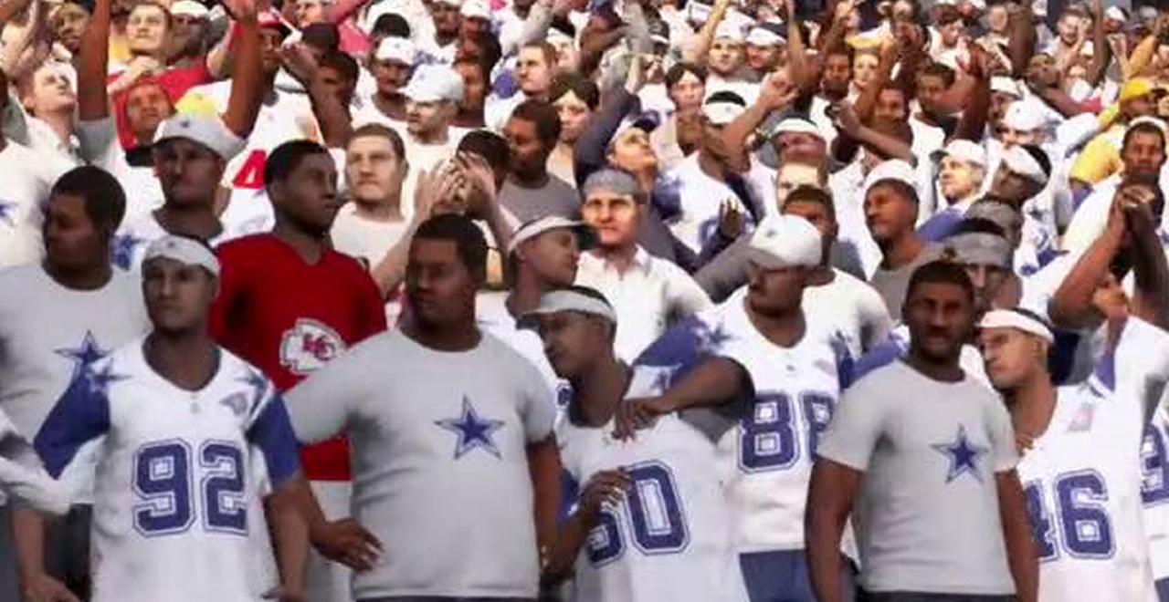 Virtual NFL Fans