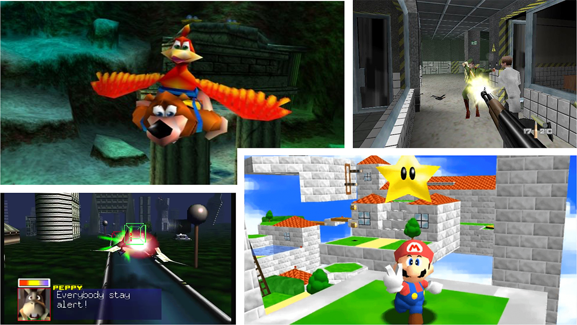 Top 10 Nintendo 64 Games