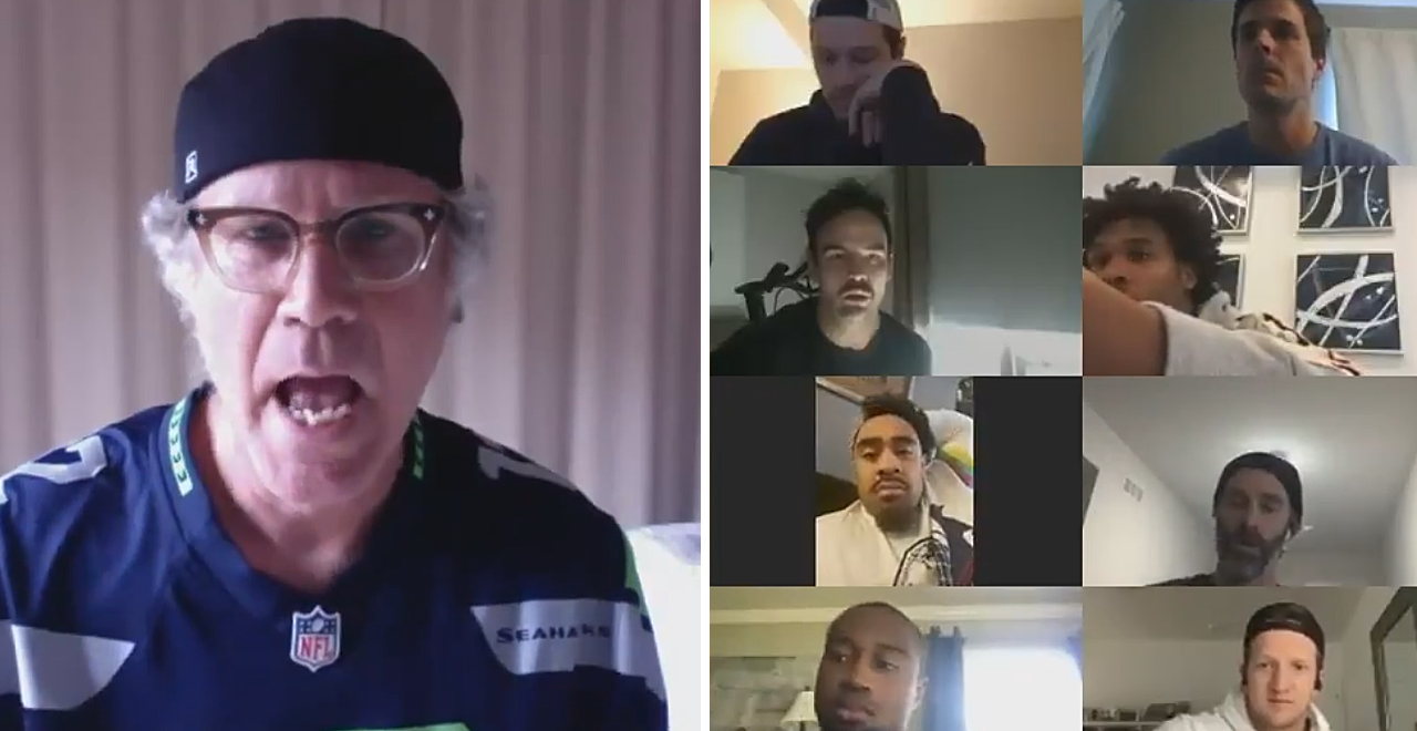 Will Ferrell Makes Videoconference Cameo