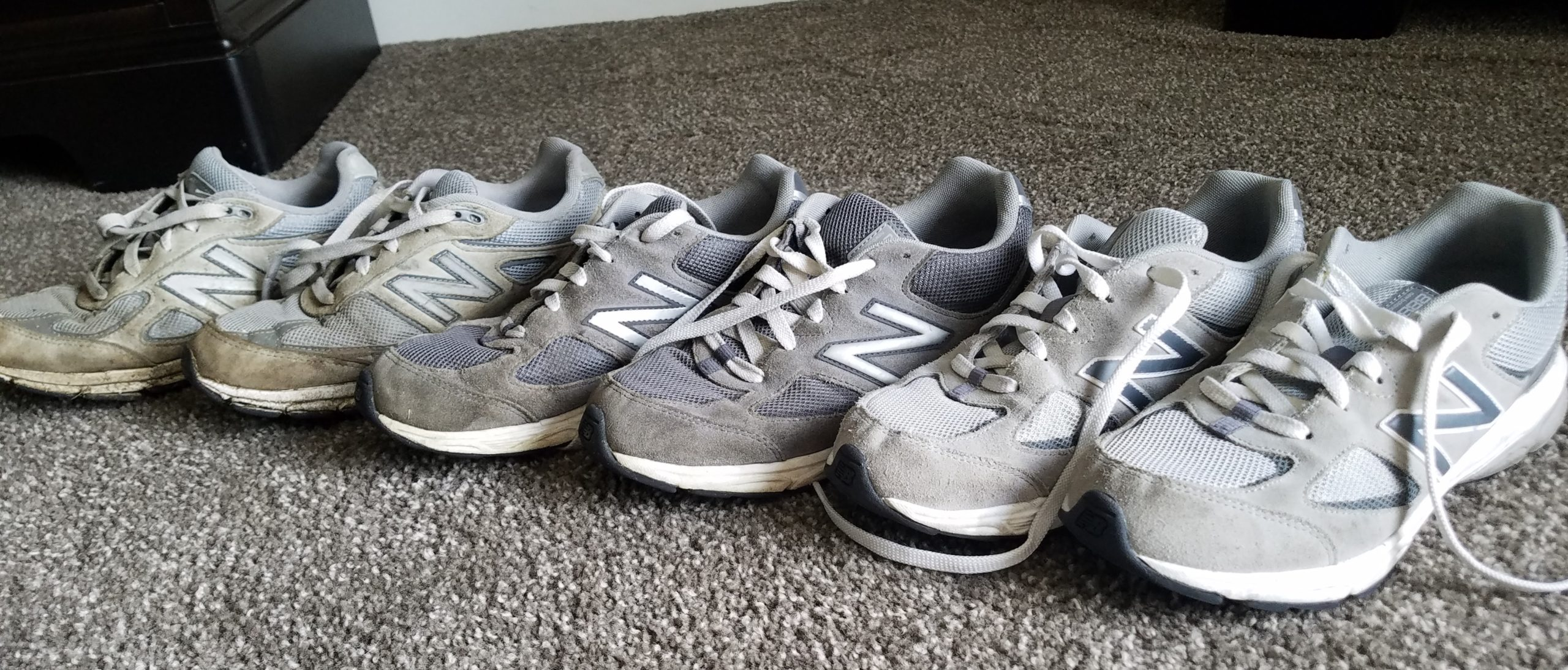 Lawnmowing Footwear New Balance
