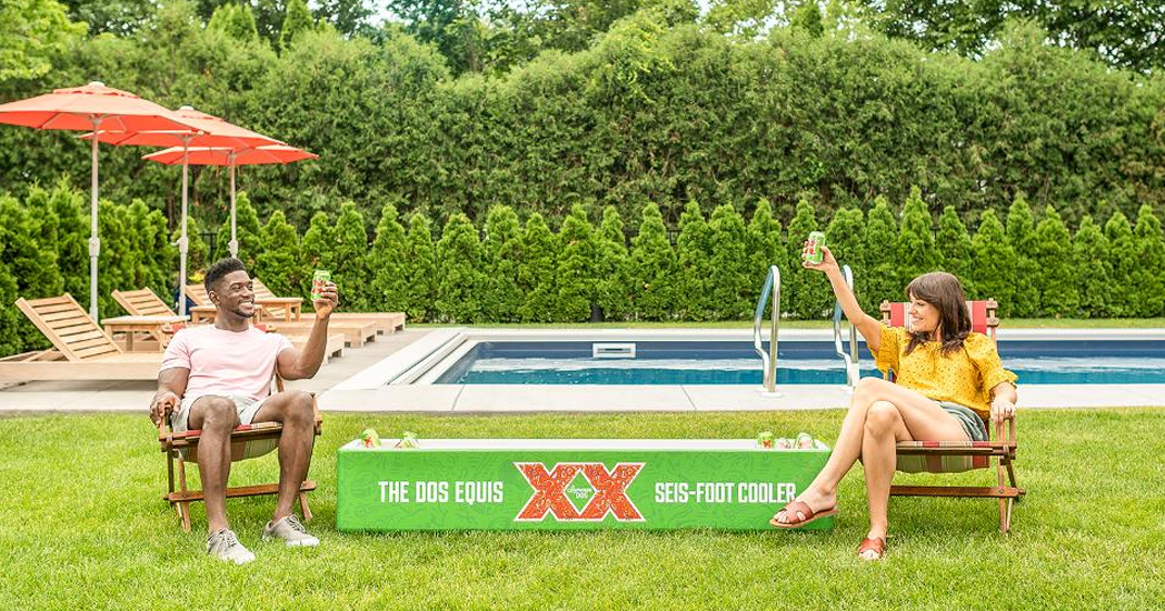 Dos Equis 6 Foot Cooler