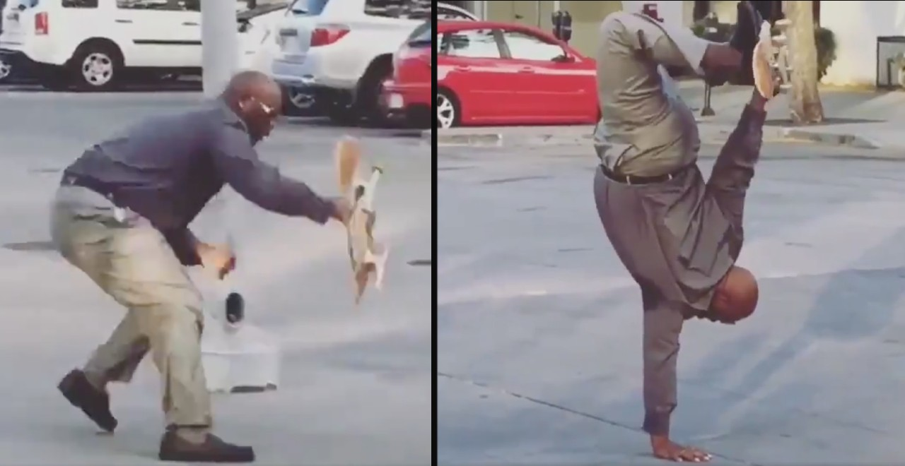 Skateboarding Man In Suit Lives in Shelter, Teaches Low-Income Kids to Skate