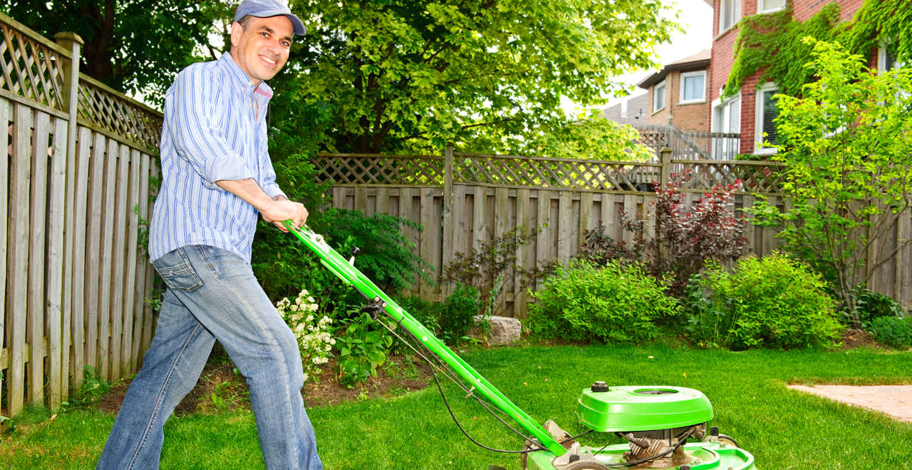 $1 Lawn Mow Father's Day Special