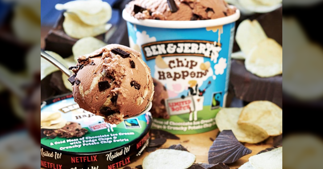Ben & Jerry's Introduces Ice Cream Flavor With Potato Chips In It
