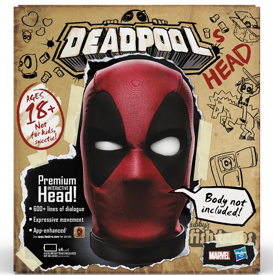 Deadpool's Head