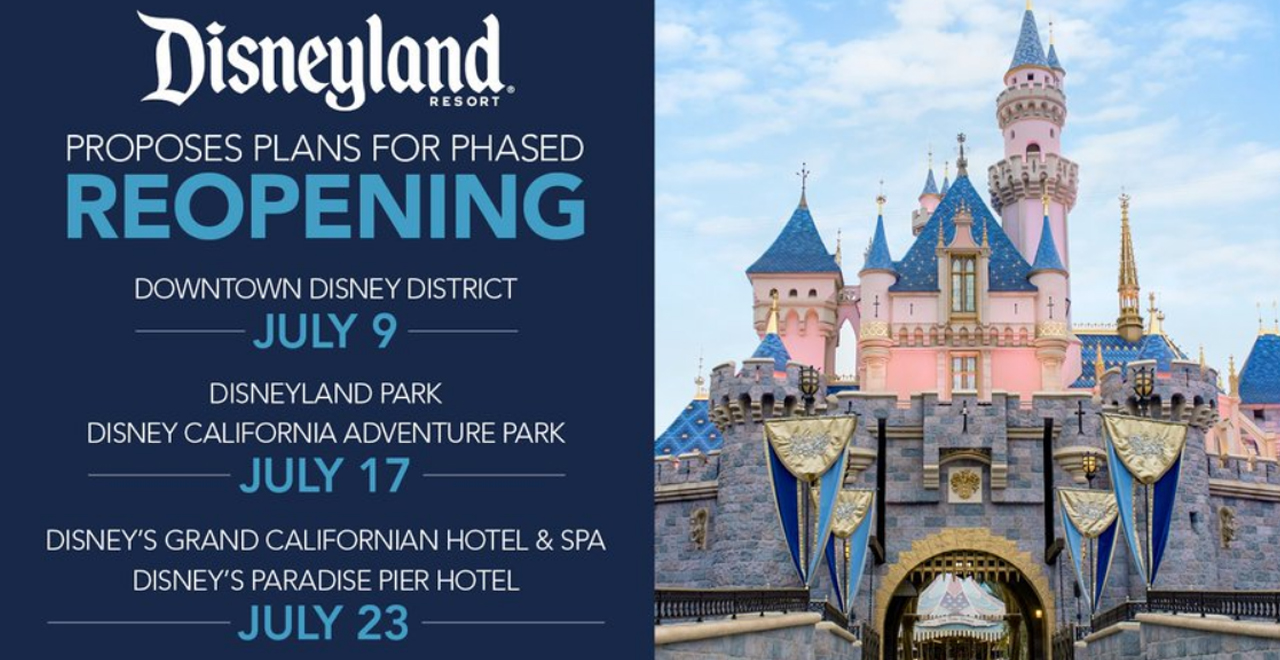 Disney is Re-opening