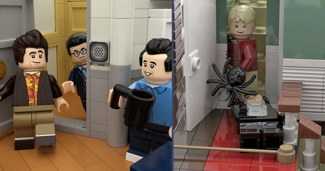 Seinfeld and Home Alone LEGO