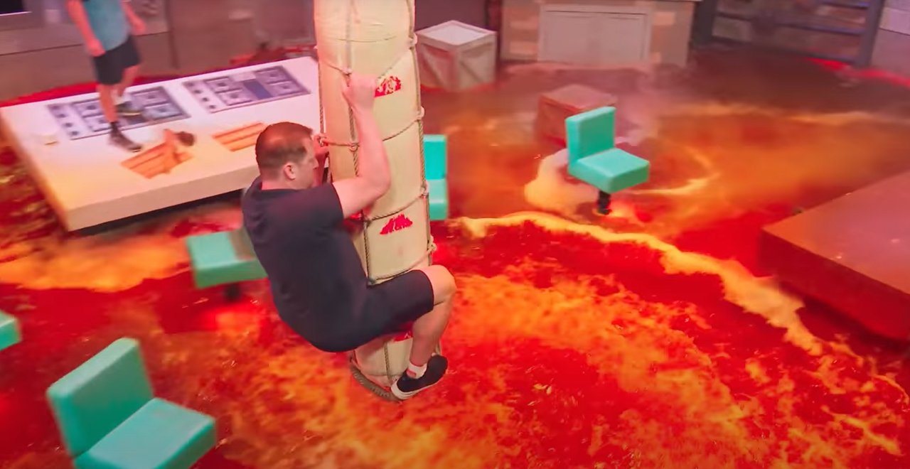"Floor Is Lava"" Game Goes From Living Rooms to Netflix"