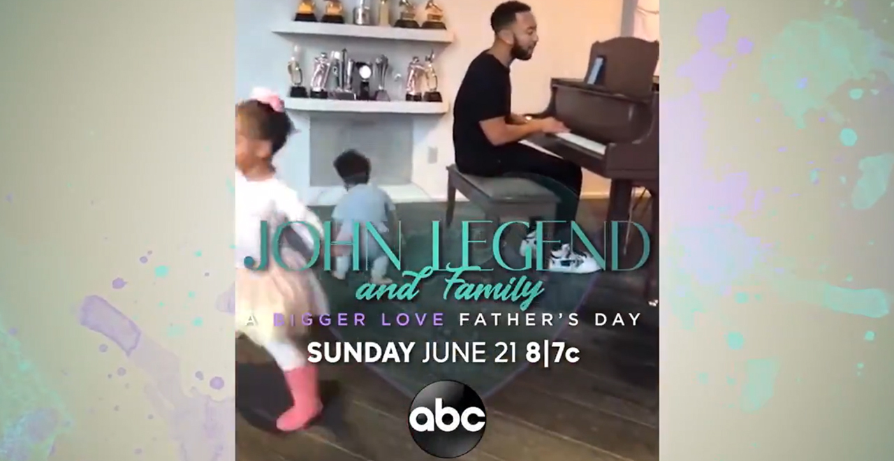 John Legend Bigger Love Father's Day