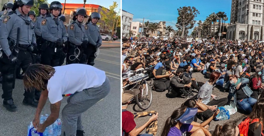 Peaceful Protests Moments
