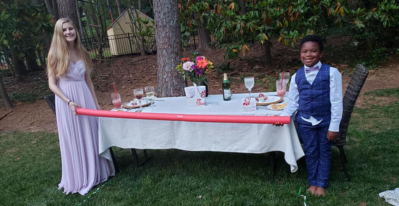 Backyard Prom