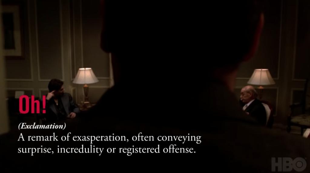 Sopranos Diction: Oh!