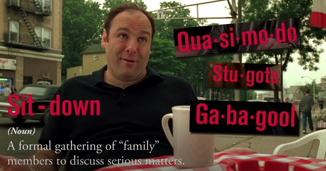 Sopranos Dictionary