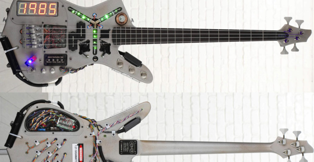 Back to the Future Bass Guitar
