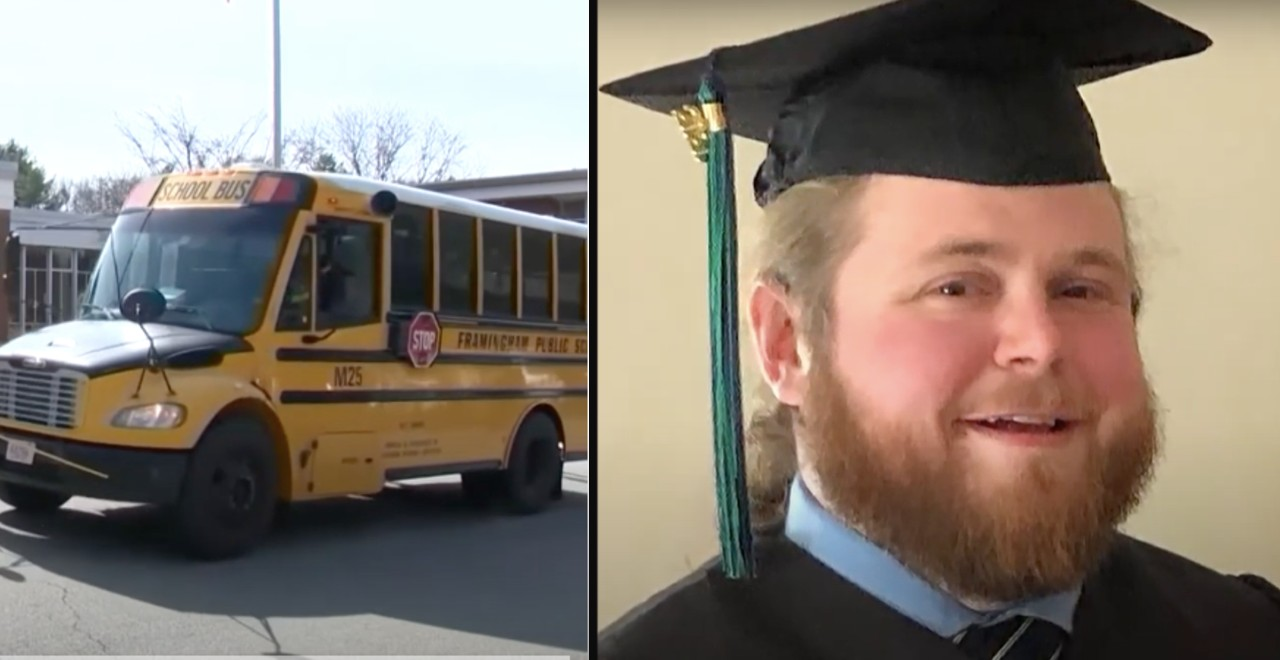Students Inspire Their Bus Driver to Get His College Degree