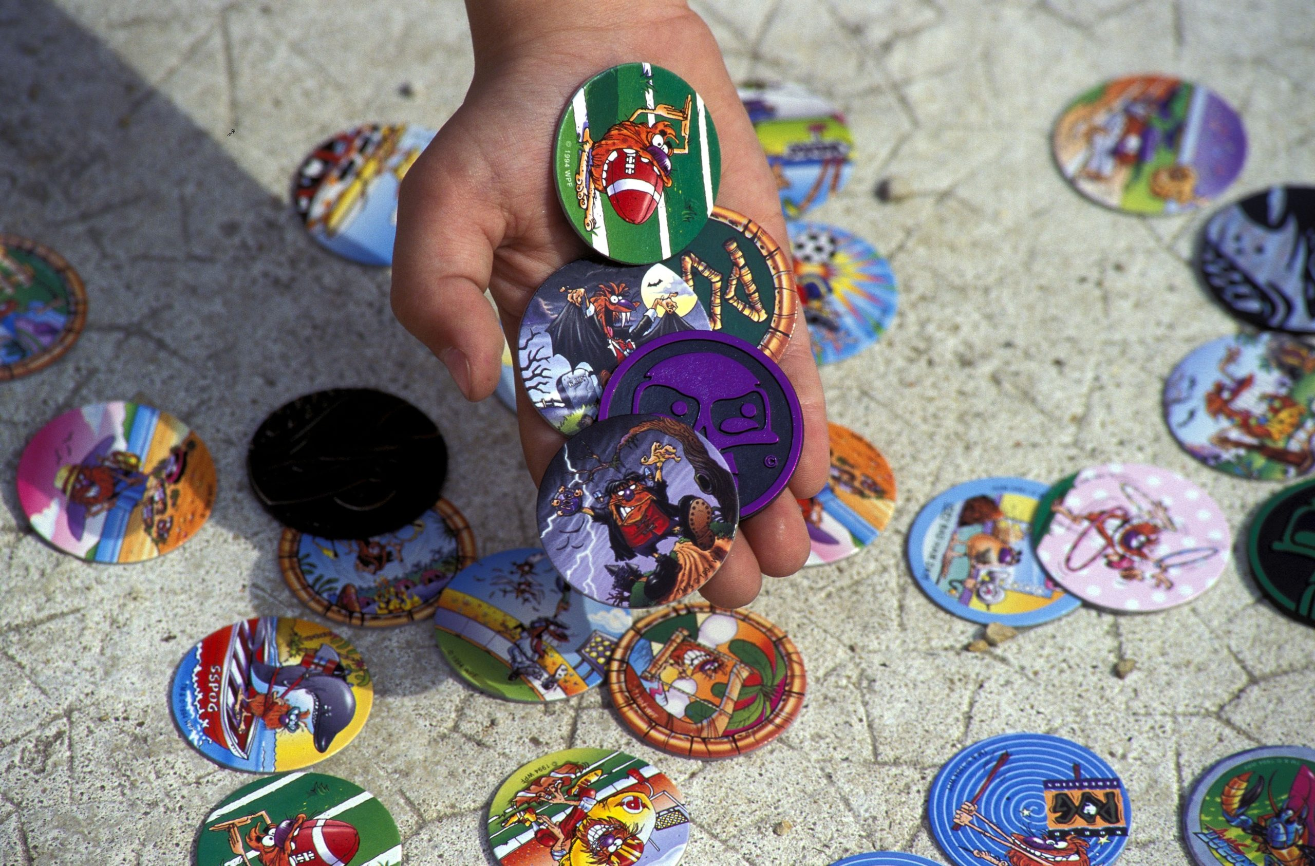 Most Popular Toys of the 90s: Pogs