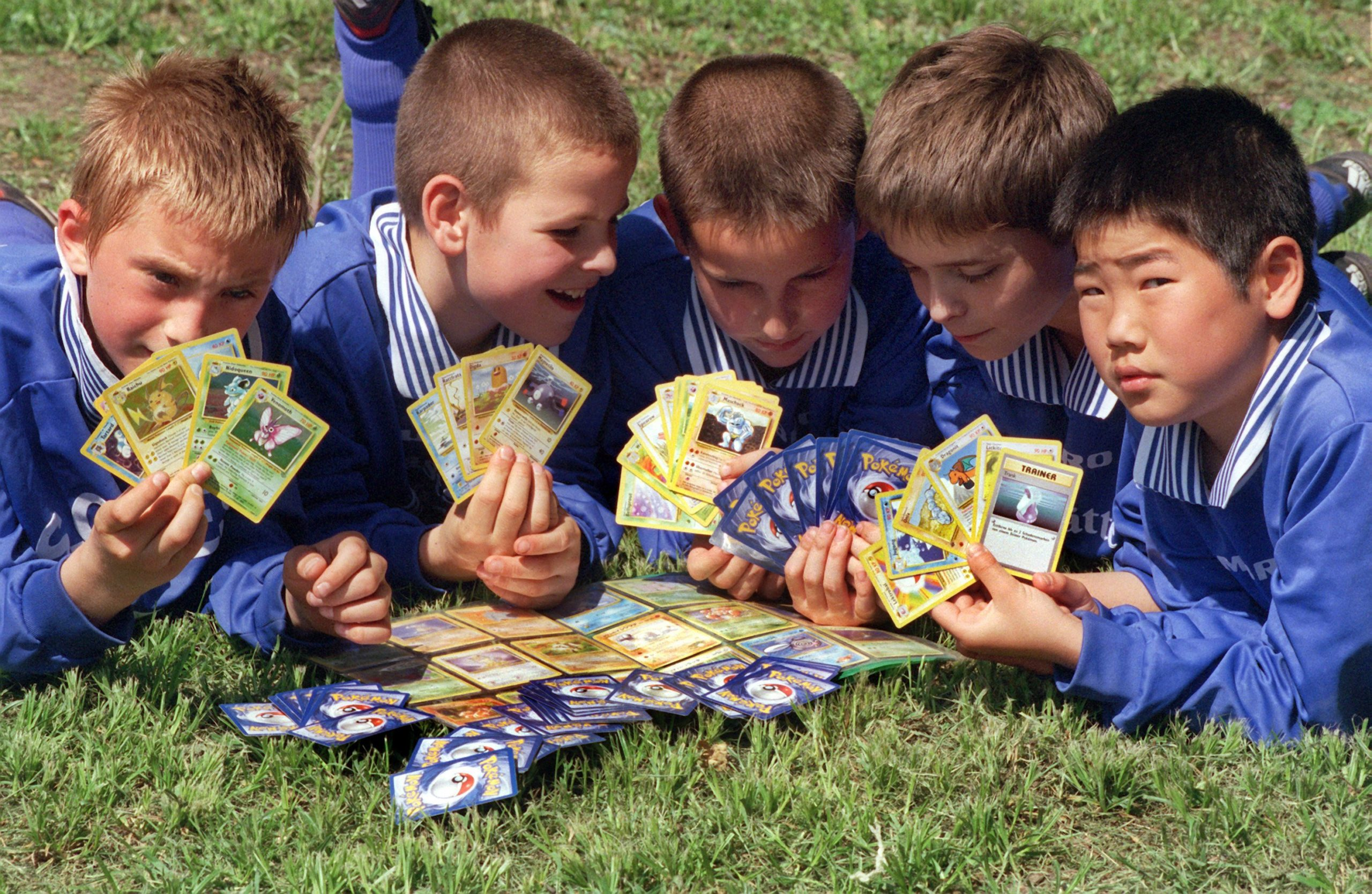 Most Popular Toys of the 90s: Pokemon Cards
