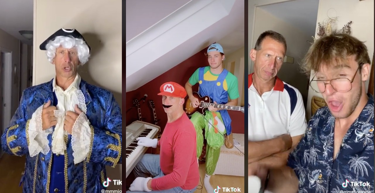 Father and Son Team Up to Dominate the TikTok World