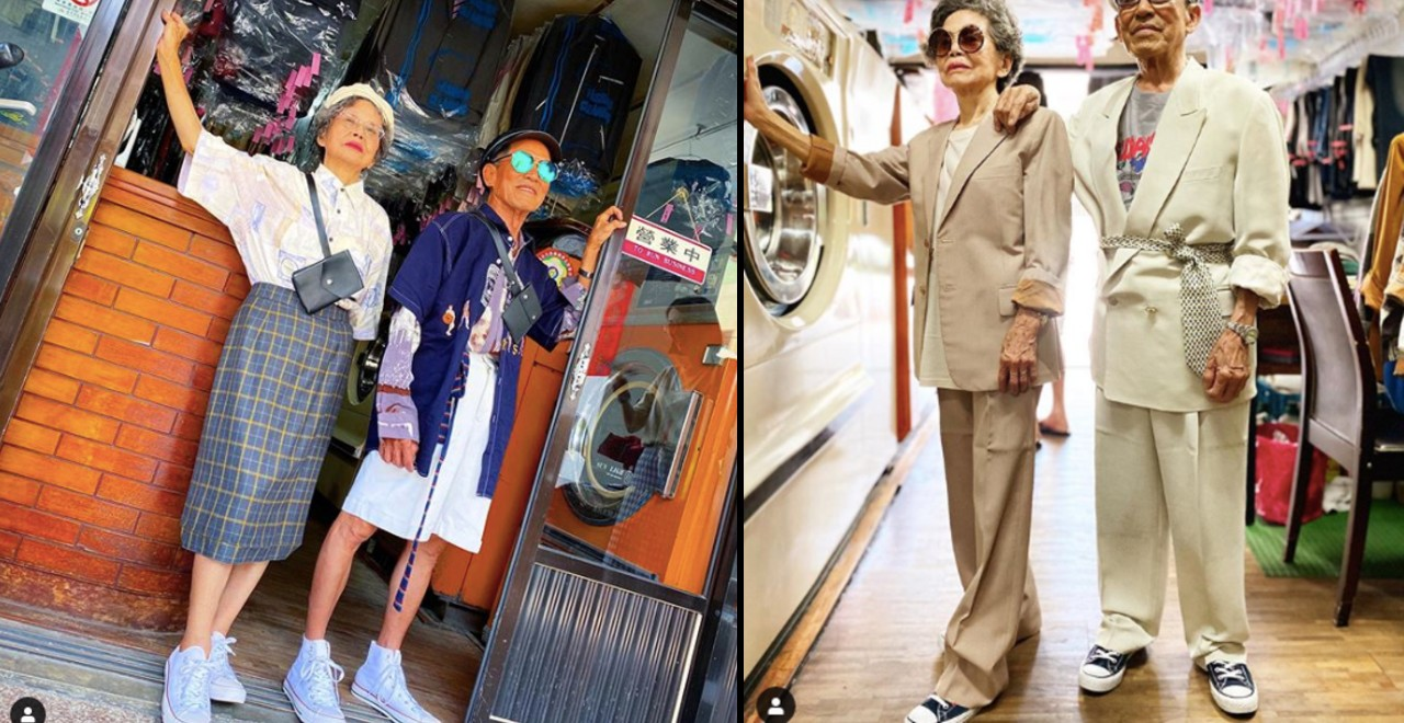 Laundry-Shop-Owning Couple in Their 80s are the Instagram Models we Need
