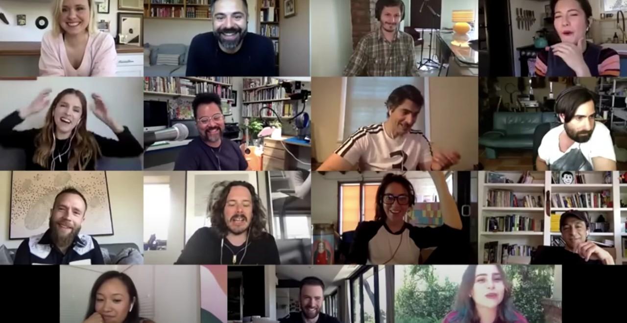 """Scott Pilgrim vs. the World"" Cast Reunites for Table Read"