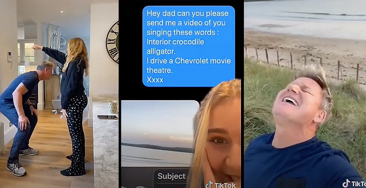 Gordon Ramsay and his Daughter Tilly are (Adorably) Killing it on TikTok