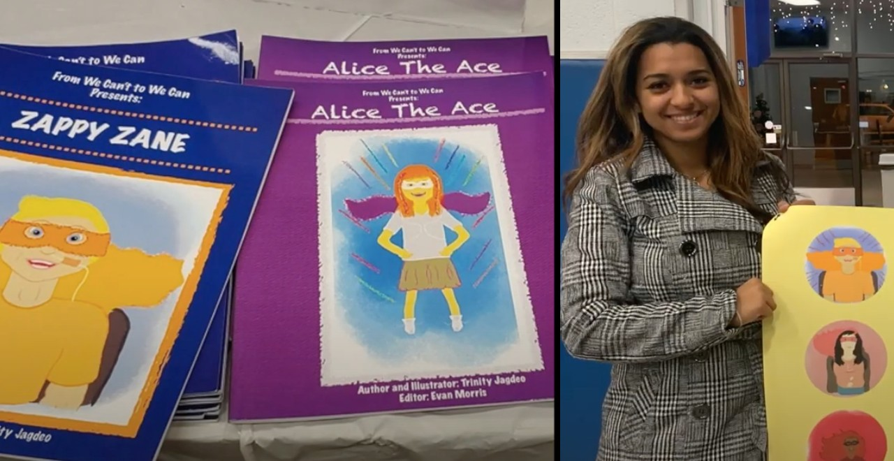 Teen Draws Comics of Superheroes with Disabilities to Support Her Friend